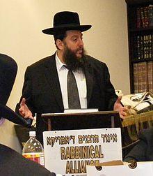 Rabi Yehuda Levin. (Foto: Qwertyqazqaz1/CC)