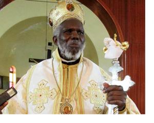 Uskup Agung Jonah Lwanga. (Foto: Mathias Mazinga)